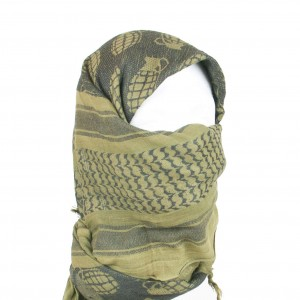 Olive Drab Grenade Shemagh