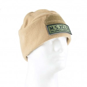Tan Fleece Beanie