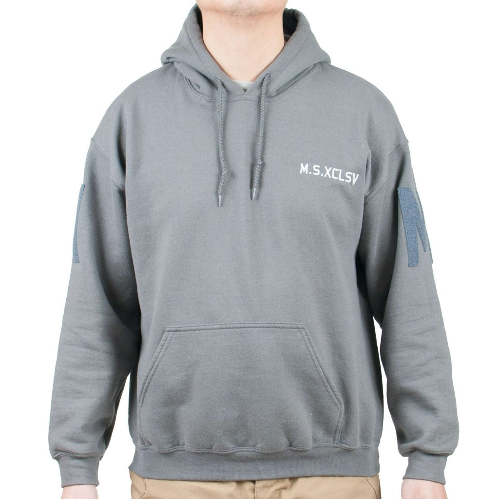 M.S.XCLSV Wolf Grey Hoodie (Limited Edition)