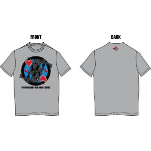 Paintballers for Heartbeat  T-shirt