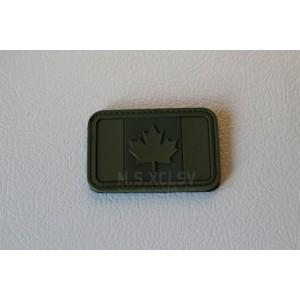 PVC Canadian Flag Velcro Patch (OD)