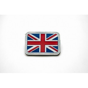 PVC British / UK Flag Velcro Patch - Traditional