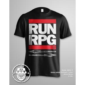 Run RPG T-shirt by Robo Apparel