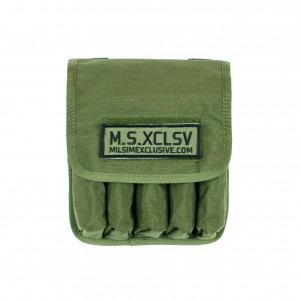 Olive Drab 5 Mags Pouch