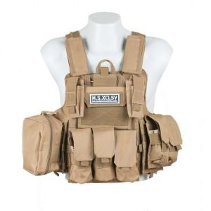 Tan Tactical Vest