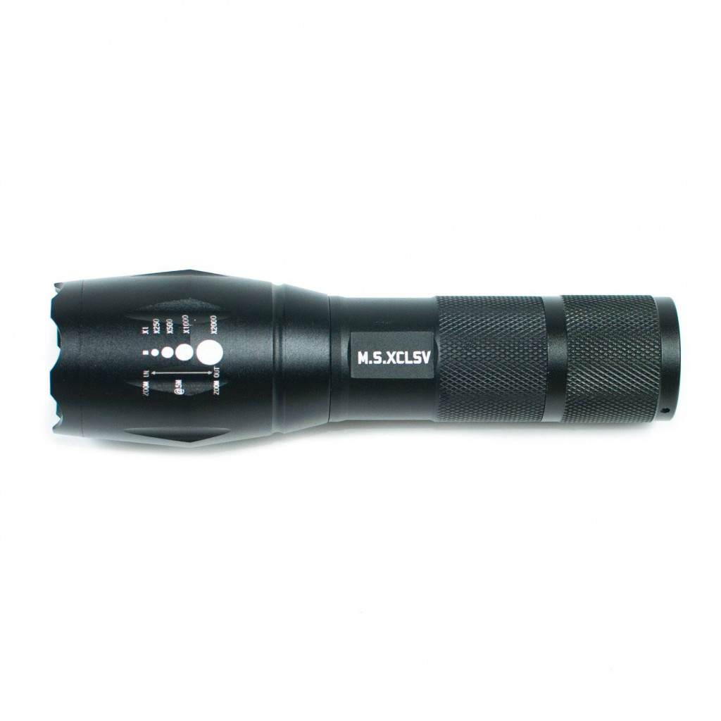Milsim Exclusive Tactical Flashlight (Limited Edition)